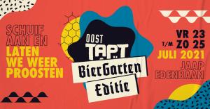 Oost TAPT | Biergarten Editie