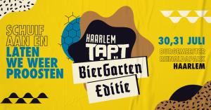 Haarlem TAPT | Biergarten Editie